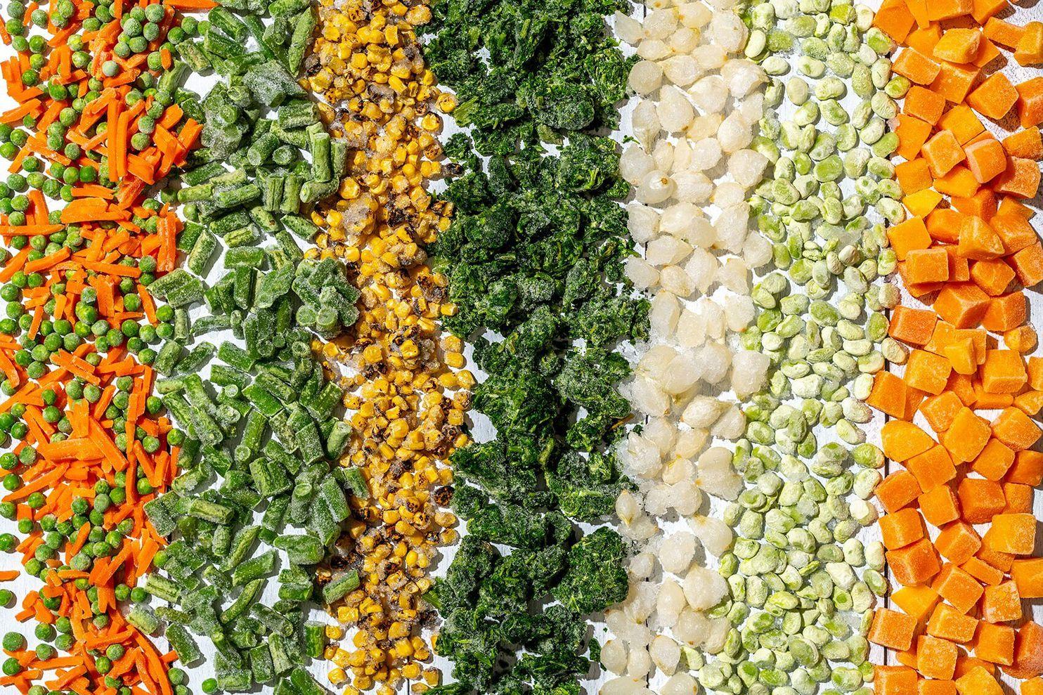 Hacking Alimentação Saudável com Legumes Congelados